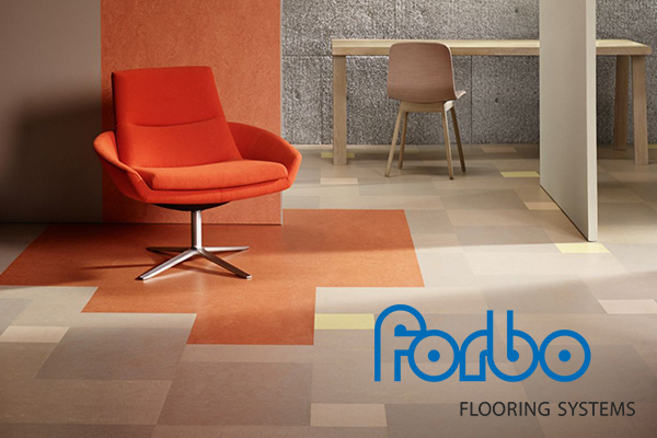 Forbo linoleum products are the ecologically preferred floor covering