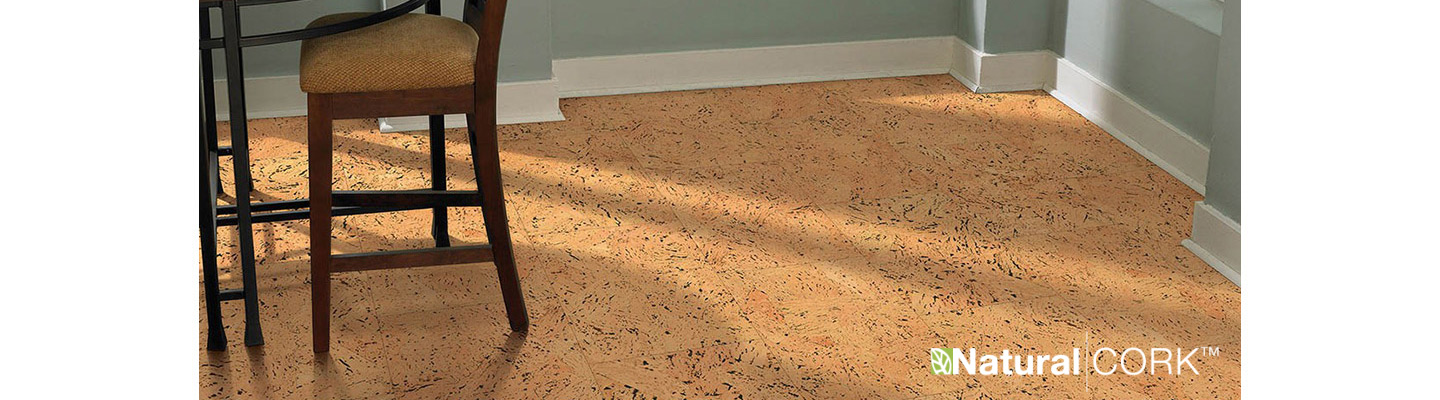 Natural Cork offers an eclectic assortment of floor coverings sure to enhance the ecological sensibility of your space
